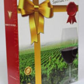 西班牙優惠葡萄酒禮盒裝一盒三瓶